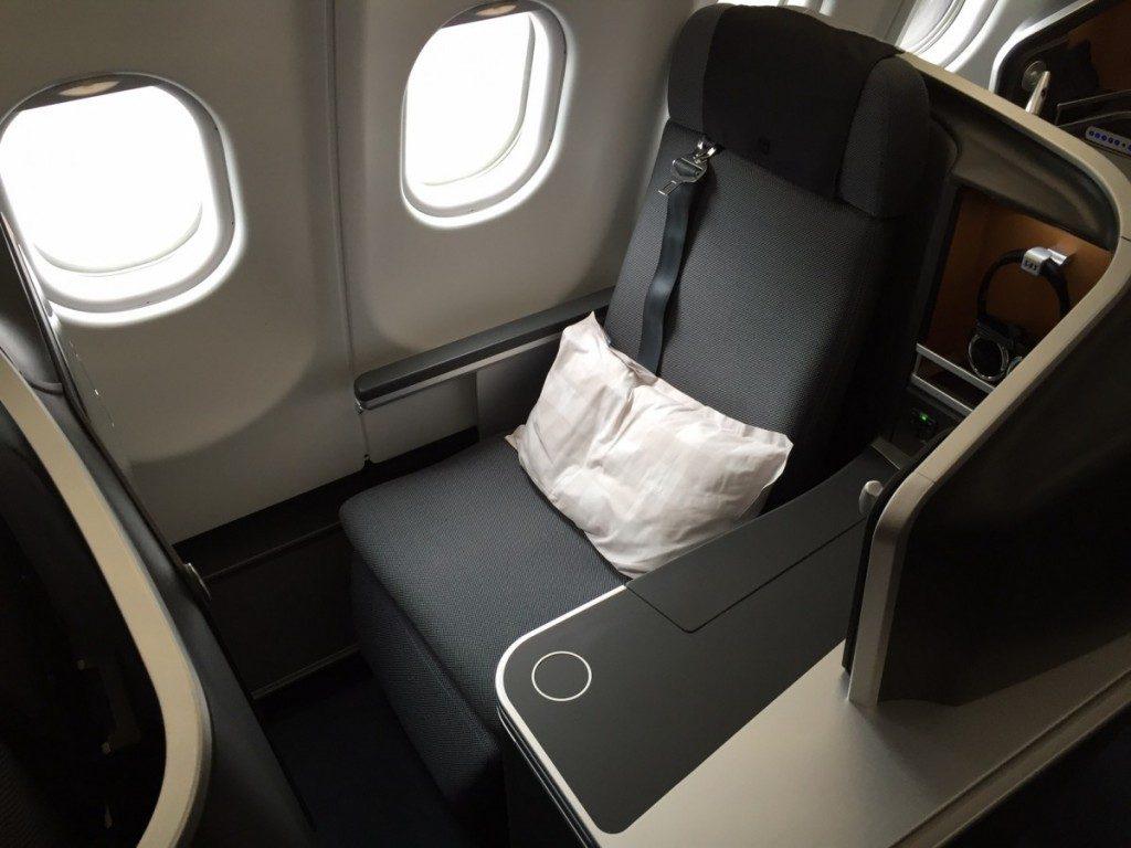 SAS nye Business Class kabine, som den ser ud 70 år efter opstarten af flyselskabet.
