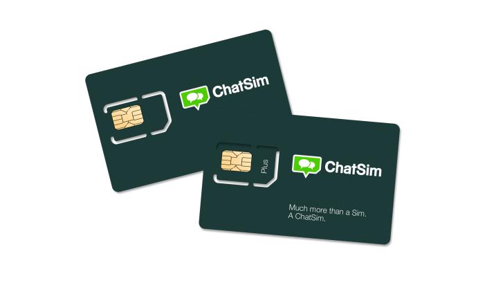 ChatSim kan bruges i over 150 lande i hele verden.