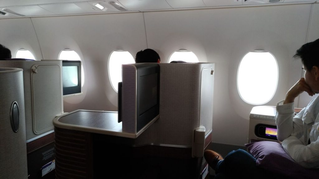 Business Class på Thai Airways A350