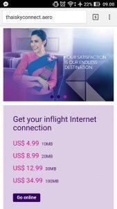 Internet er dyrt hos Thai. Foto: Jens Fisker