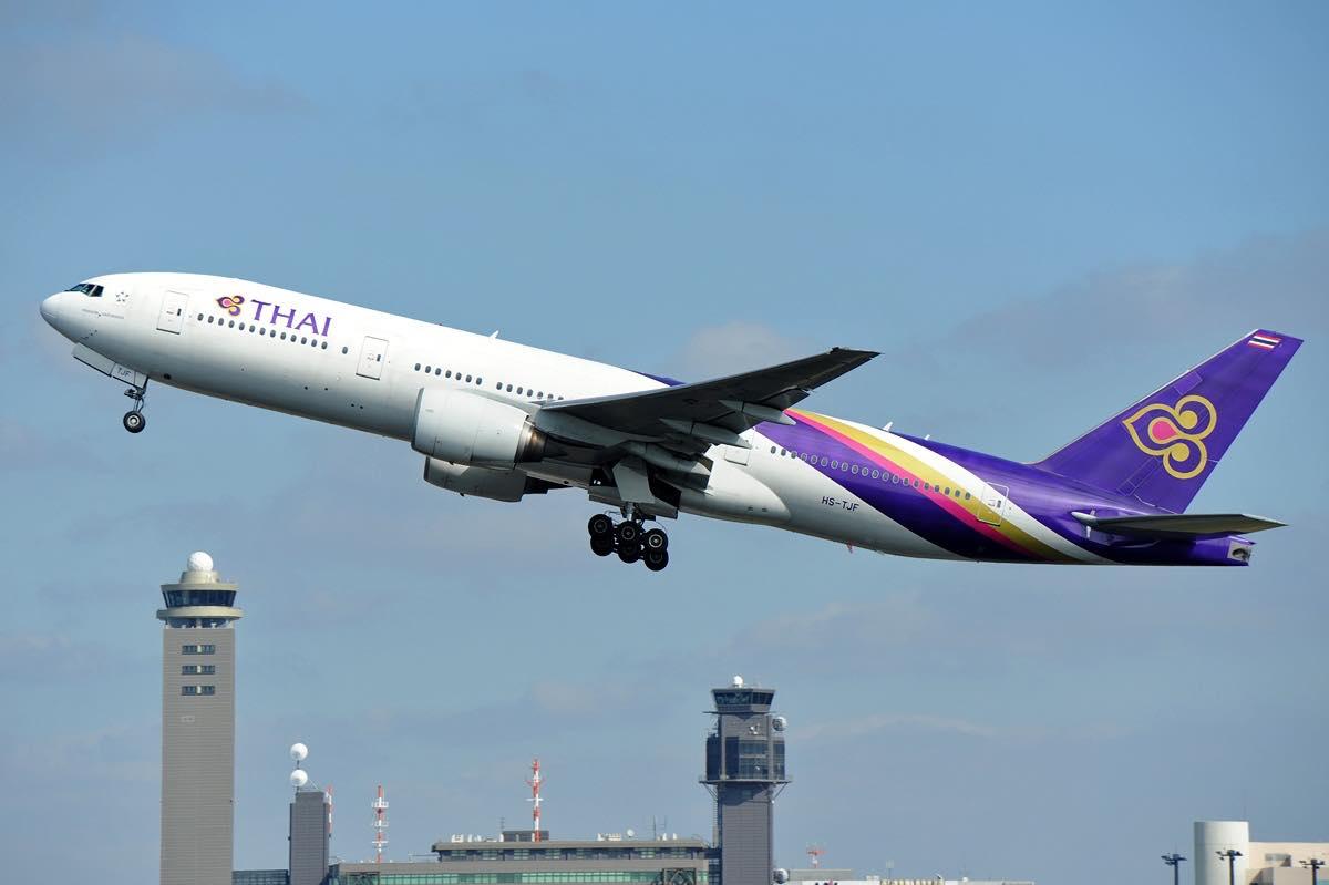 direkte fly til thailand