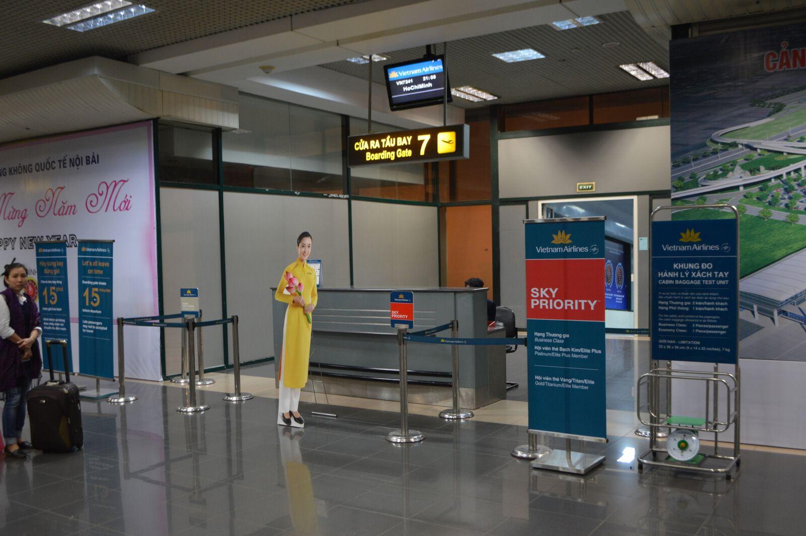 Snart klar til boarding. Foto: Jens Fisker