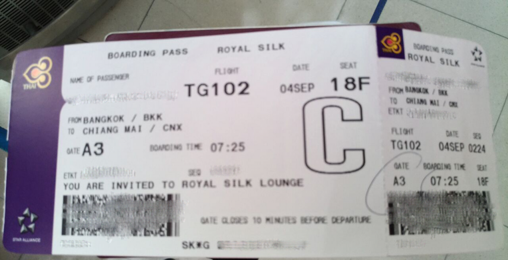 Klar til boarding på første passagerafgang med Thai Airways Airbus A350. Foto: Jens Fisker