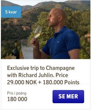 SAS Dreams tilbyder eksklusive rejseoplevelser, som man normalt ikke selv kan købe.