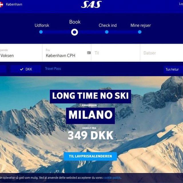 SAS launched a brand new webdesign on SASdk today httpsfinalcalltraveldasasnyhjemmesidedanmarkhellip