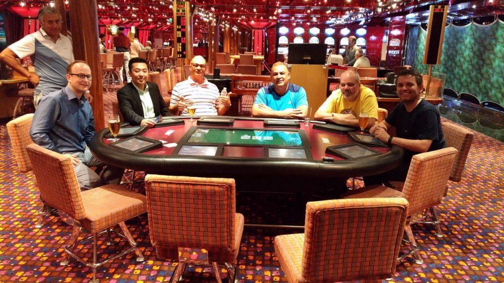 Pokerturnering i Kasinoet. Foto: Jens Fisker