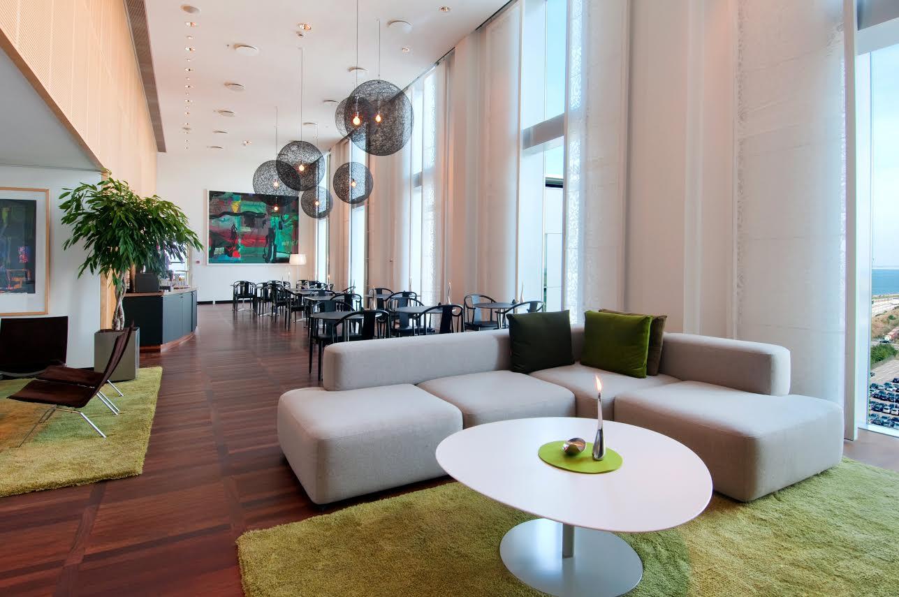 Executive Lounge på Hilton Copenhagen Airport