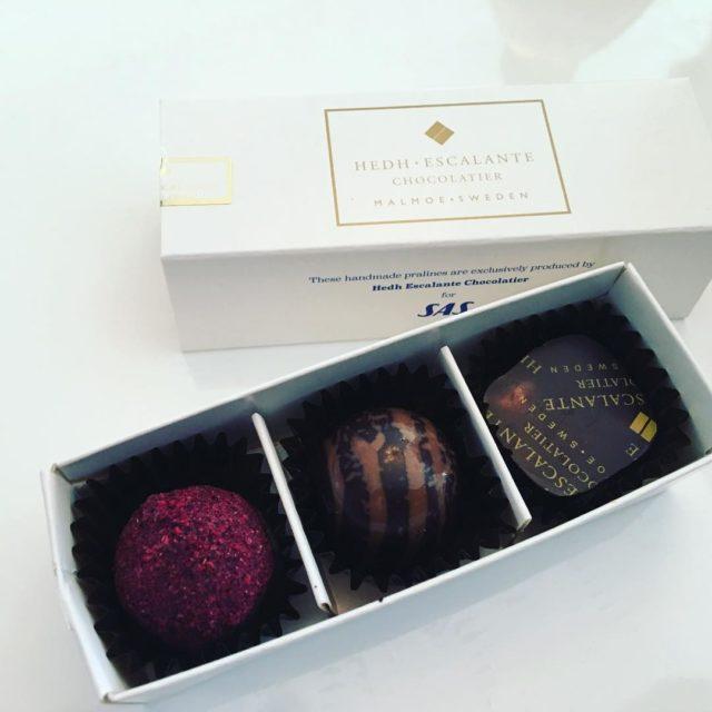 Really nice chocolate dessert on SAS Plus from next weekhellip