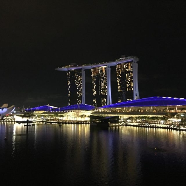 The view from Fullerton Bay hotel in Singapore is fantastichellip