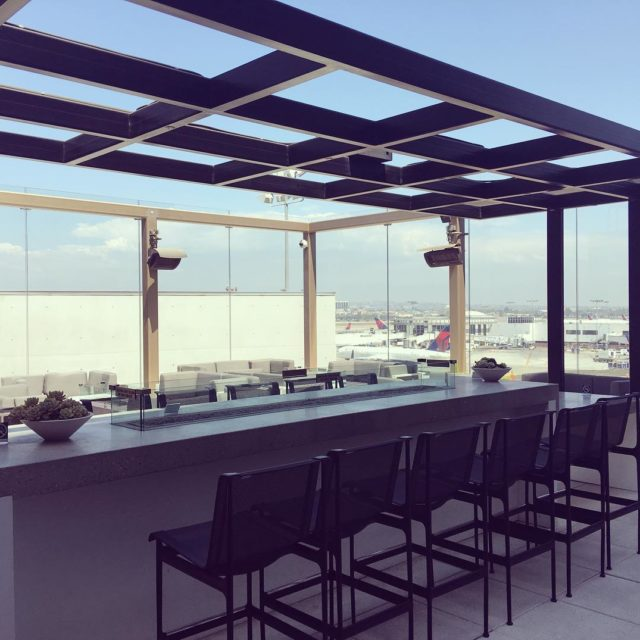 Love the terrace staralliance lounge in LAX