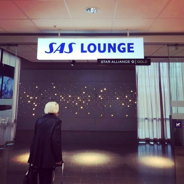 Brand new SAS Lounge opened in Oslo yesterday Includes baristahellip