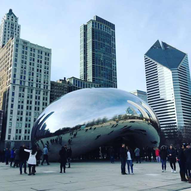 We  Chicago chicago bean travelsmarter finalcalltravel