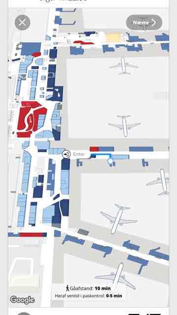 Cph App Guider Dig Til Din Naeste Gate Ved Transfer Finalcall