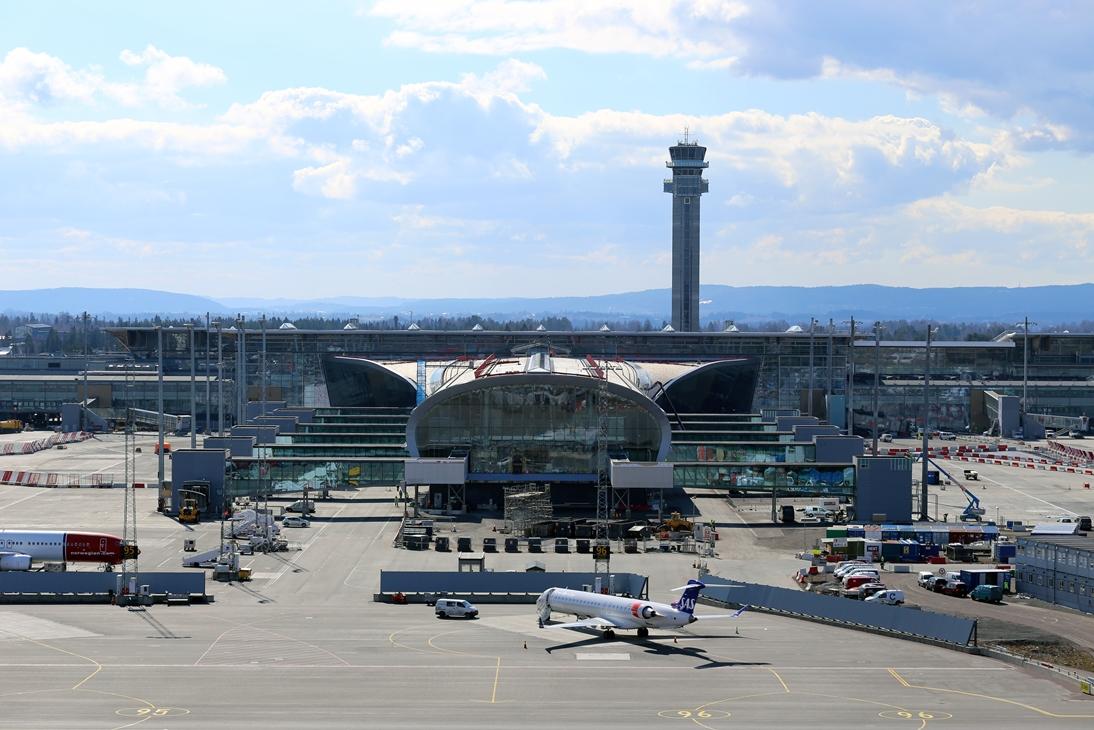 flyselskaper gardermoen