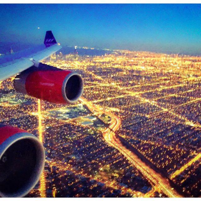 Beatiful decent into Chicago OHare finalcalltravel flysas ord chicago oharehellip