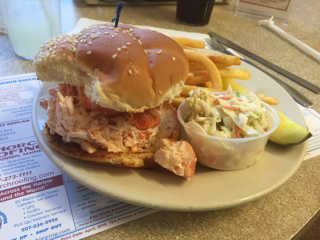 Lobster Roll i Maine. Foto: Flemming Poulsen