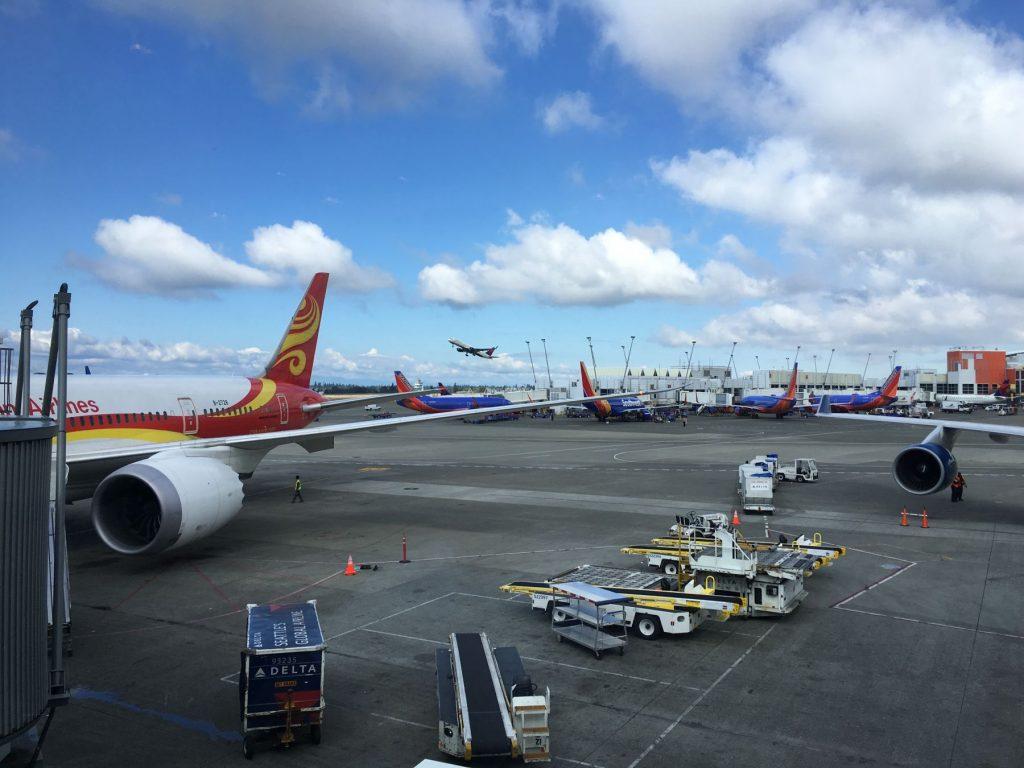 Hainan straks klar for tur til Shanghai.
