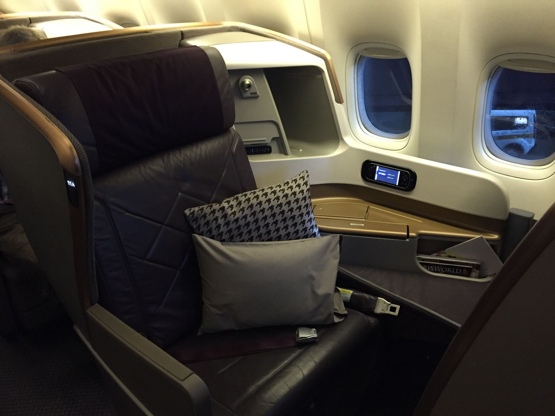 Sete 11A - Singapore Airlines nyeste Business Class-produkt