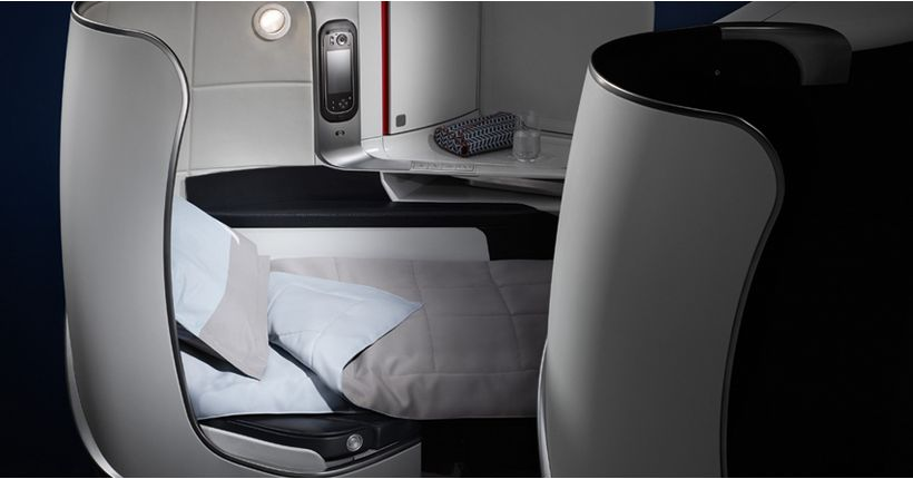 Air France Business Class sete