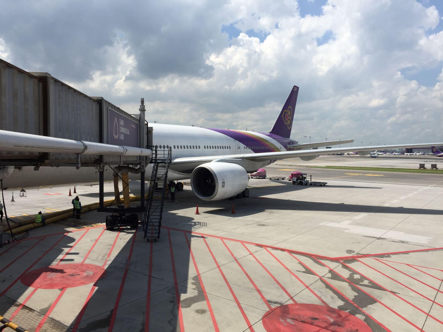 Dagens fly. En Boeing 777-200