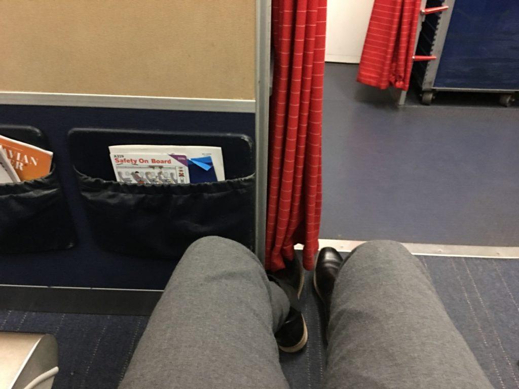 """Sete 1C om bord OY-KBO """"Christian Valdemar Viking"""" på strekningen København-Krakow."""