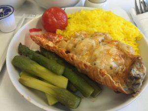 Lobster Thermidor som er et alternativ på Book The Cook! Anbefales!