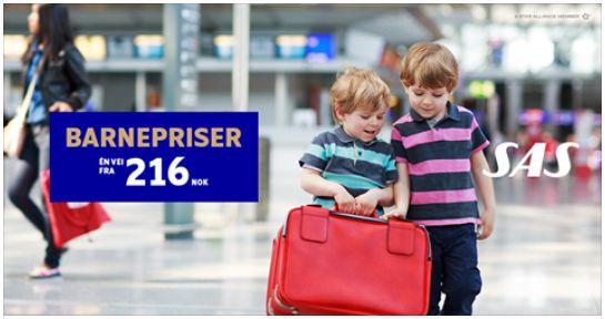 SAS barn reiser gratis 2017