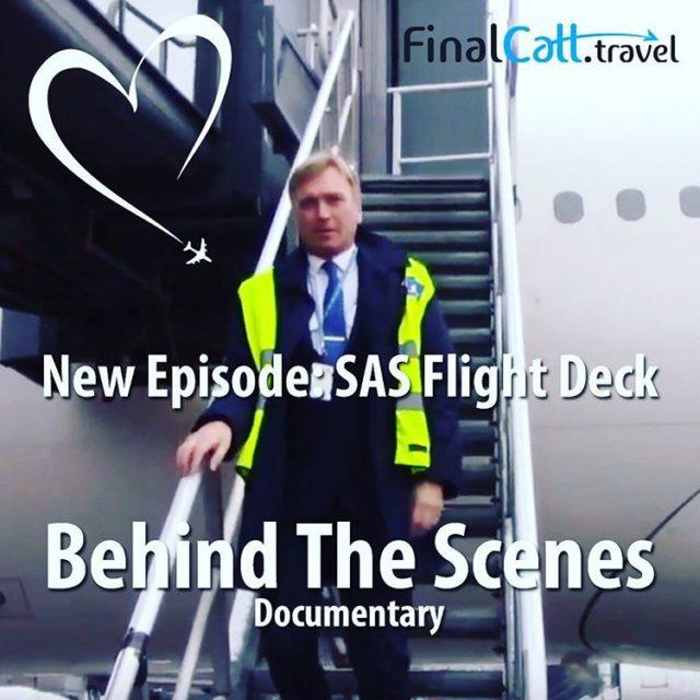 New episode Behind The Scenes documentary Follow flysas flight deckhellip