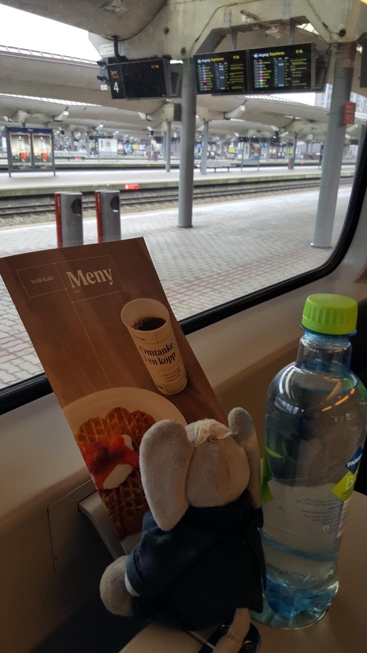 Meny på tog