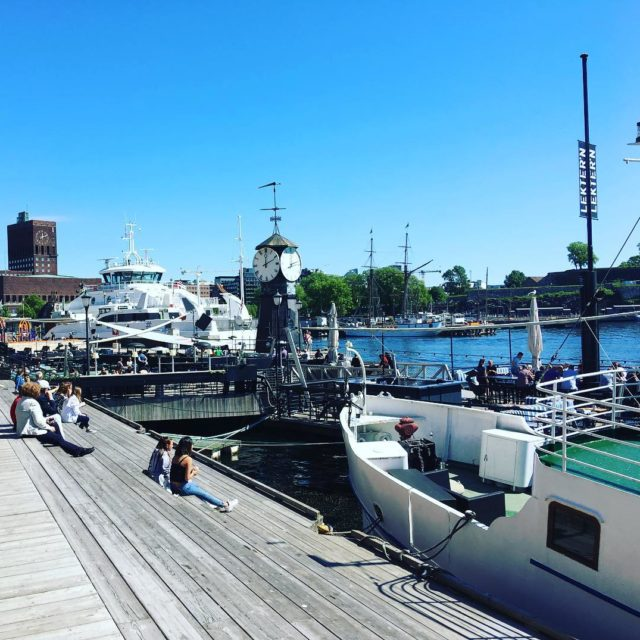 We just love Oslo on a sunny day Whats nothellip