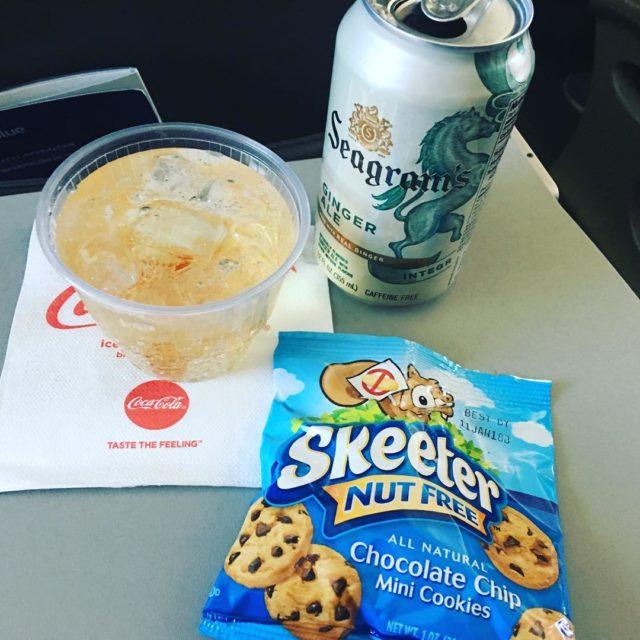 Service on a 40 min flight with JetBlue from Newarkhellip