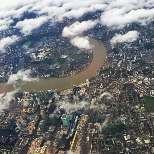 Cloudy but beautiful morning over London london lhr heathtrow finalcalltravelhellip