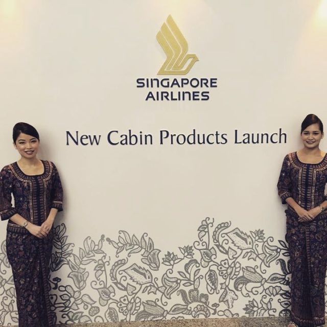 We are in Singapore for the presentation of Singapore Airlineshellip