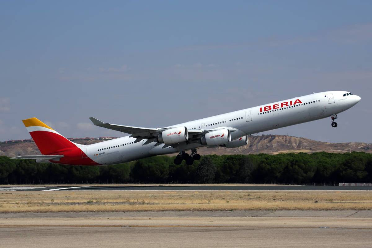 Iberia 340-600. Foto.Iberia press