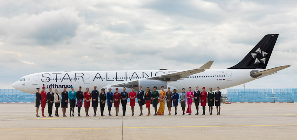 Photo of Star Alliance firade 20 år