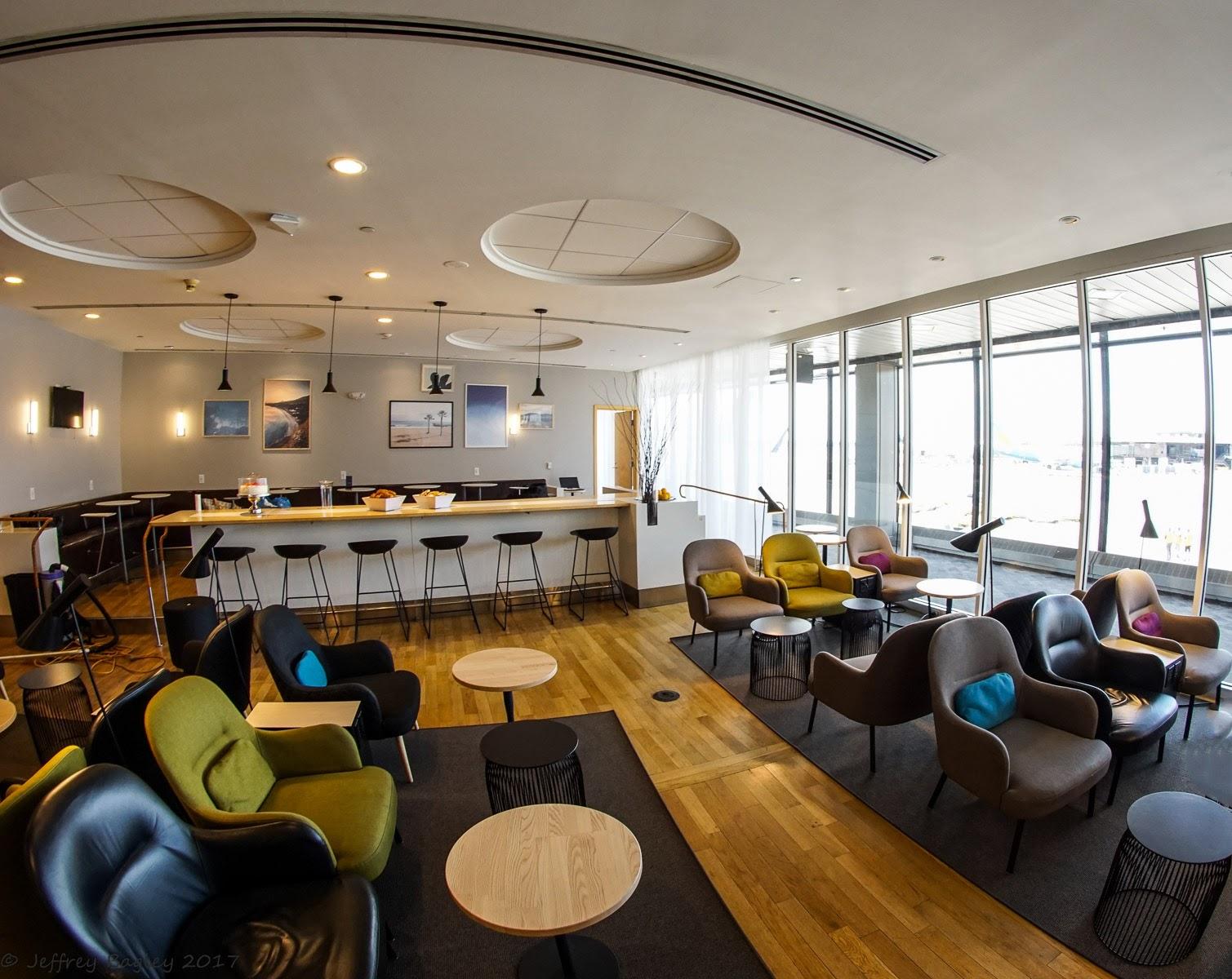 Photo of SAS Lounge i New York i ny design och plats för fler resenärer