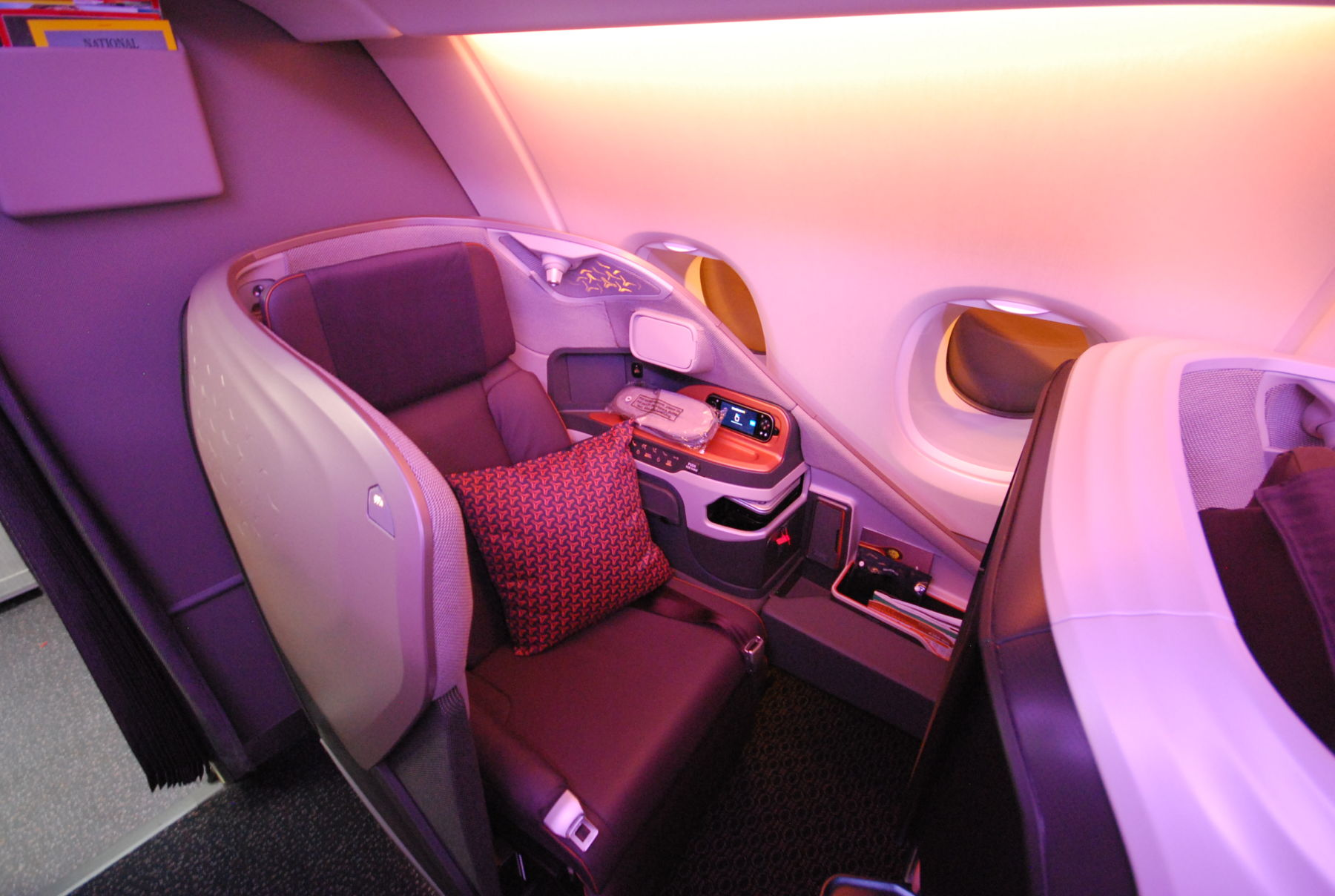 Photo of Recension: Singapore Airlines senaste Business Class på Airbus A380
