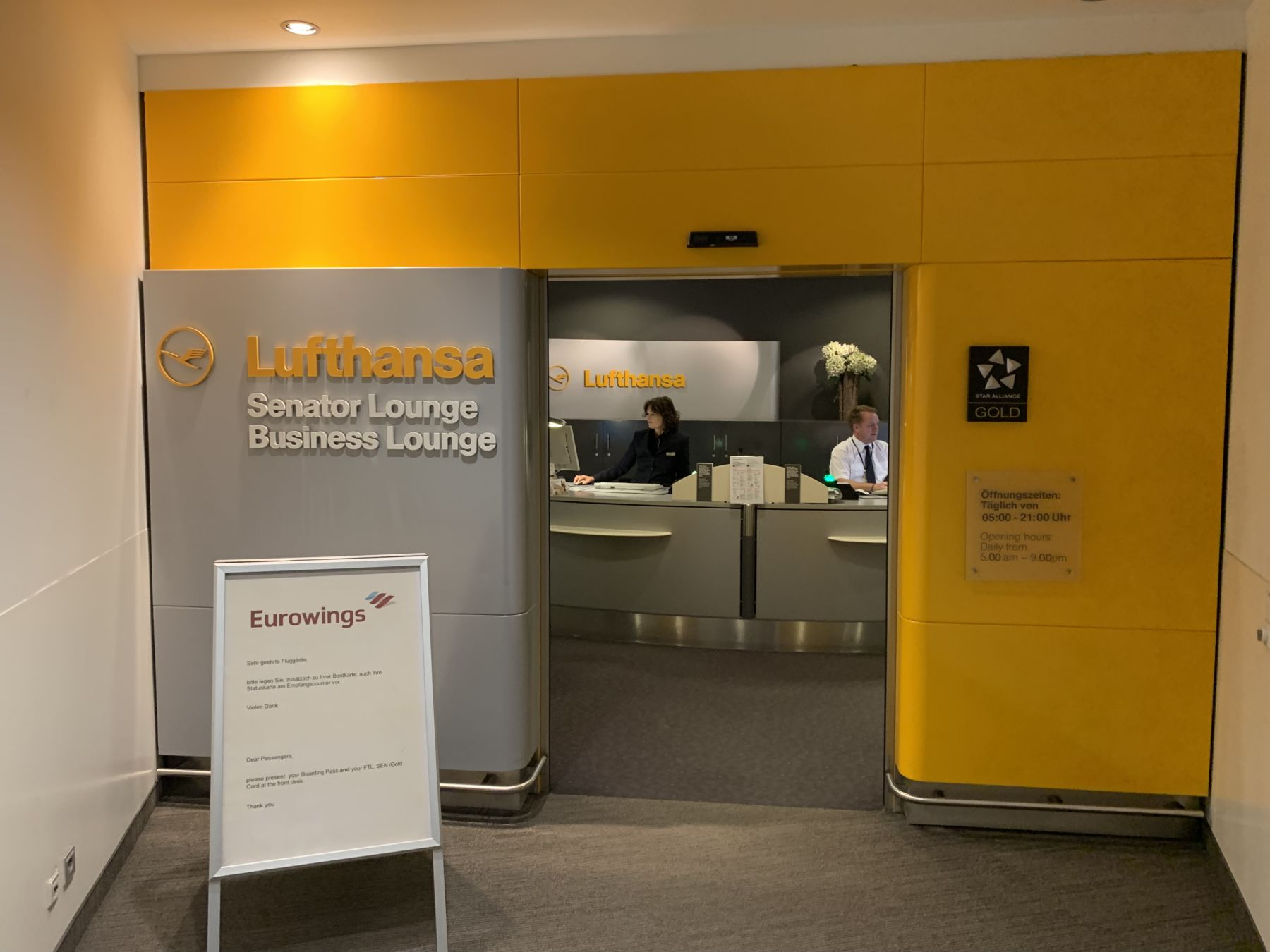 Photo of Recension: Lufthansa Senator Lounge Hamburg