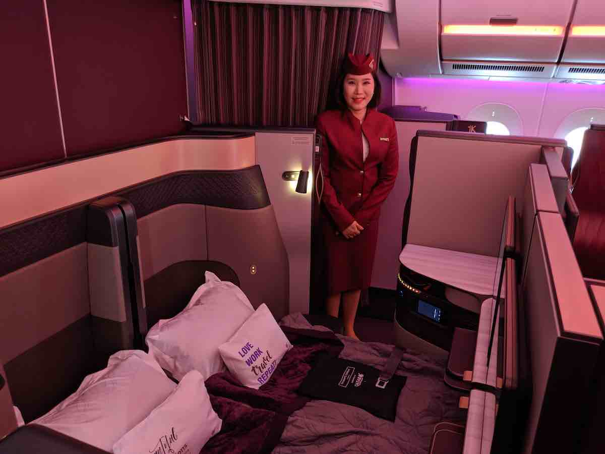 Photo of Kom med ombord på Qatar Airways nya QSuites