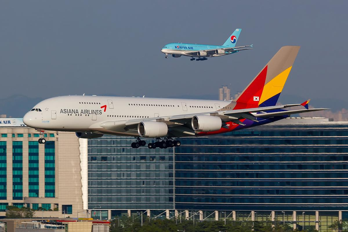 Photo of Korean Air vill ta över konkurrenten Asiana