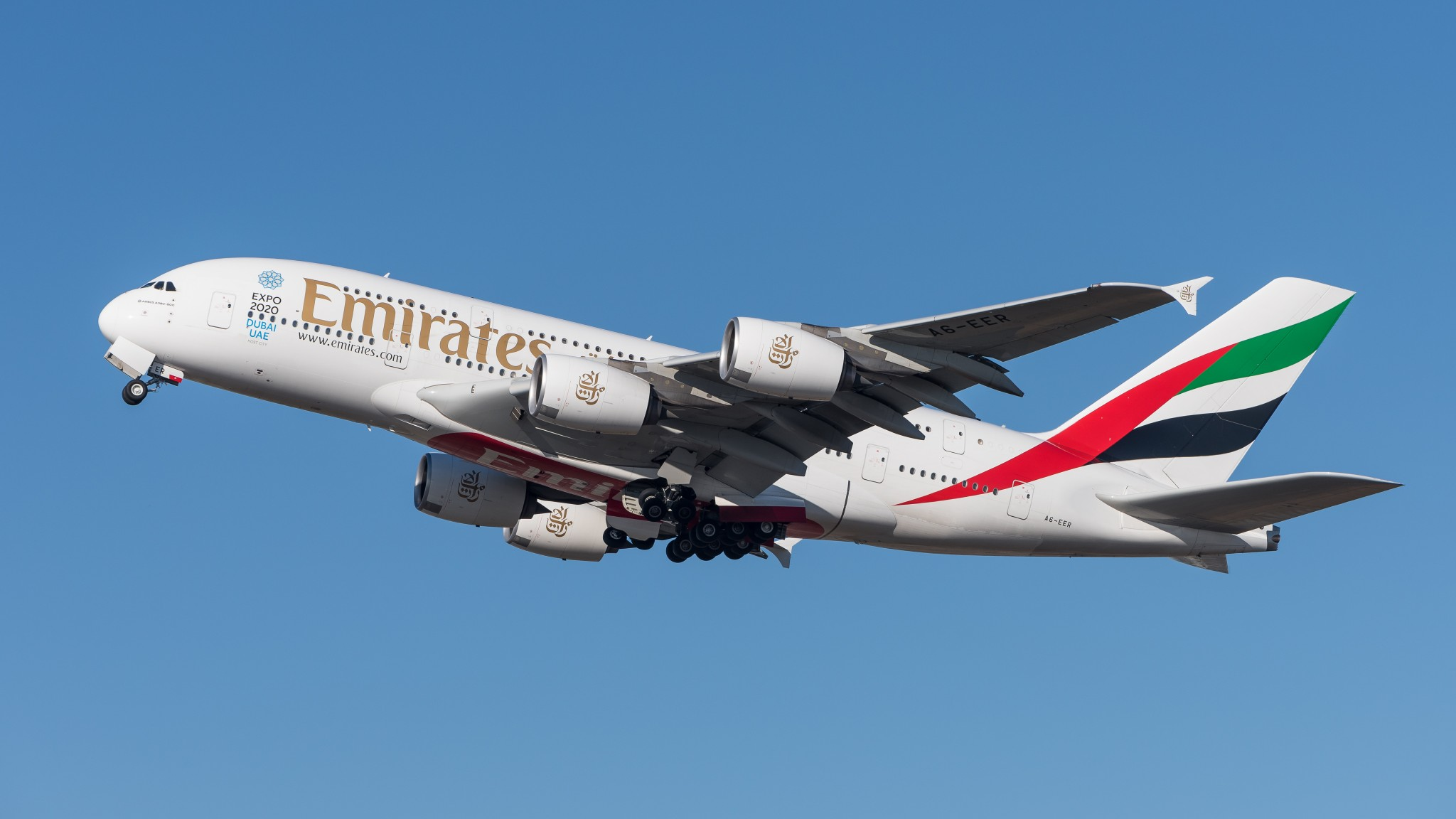 Photo of Emirates planerar att flyga 70% av normal kapacitet i vinter