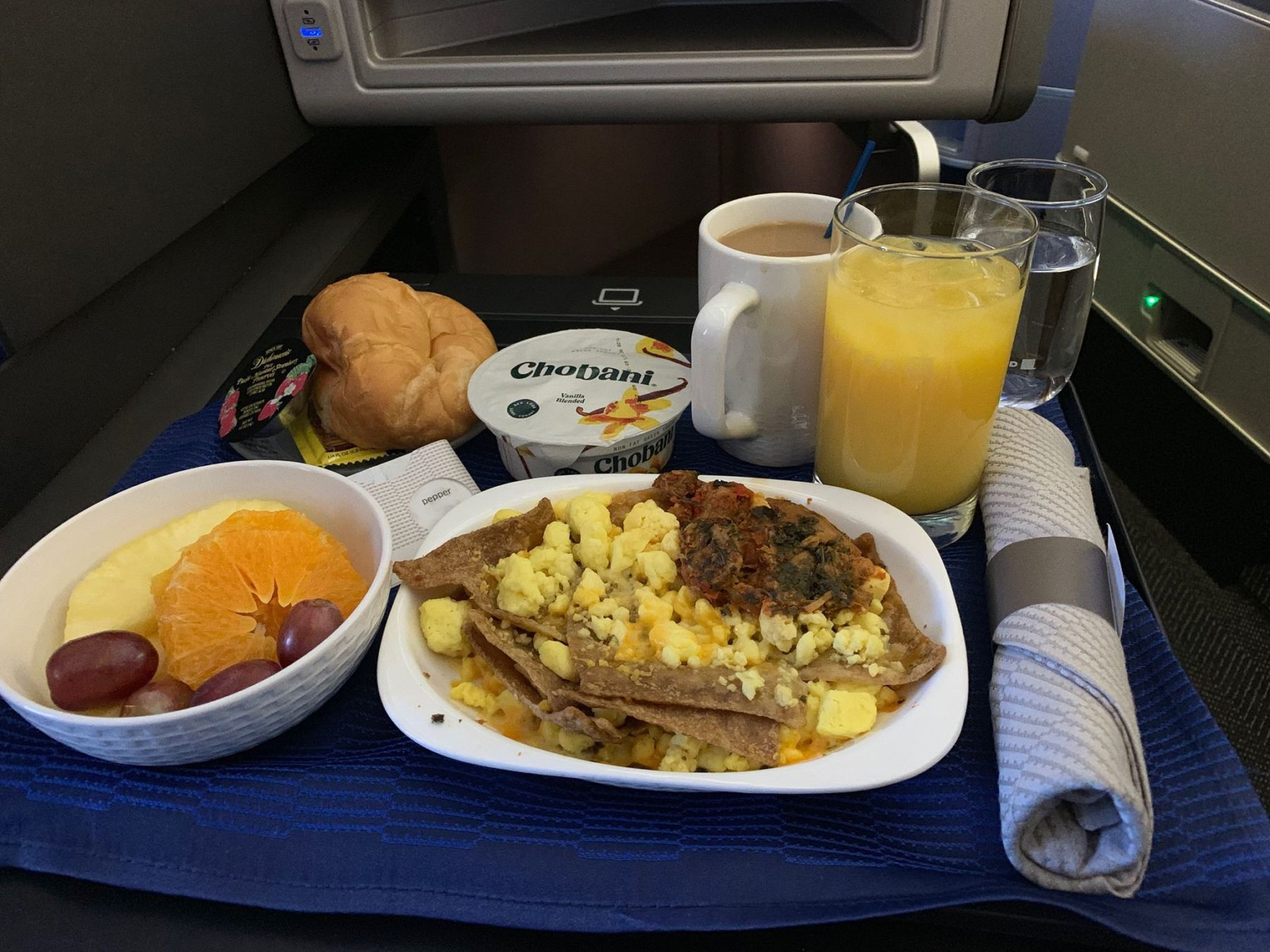 Photo of Recension: United Airlines Polaris Business Domestic i USA