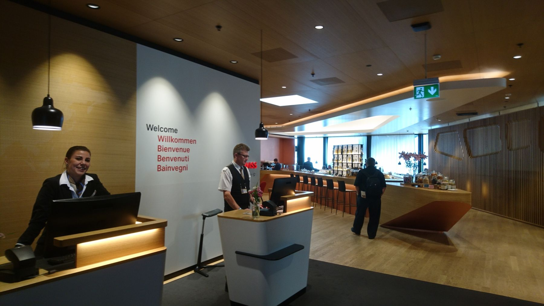 Photo of Recension: Swiss First Class lounge i Zürich