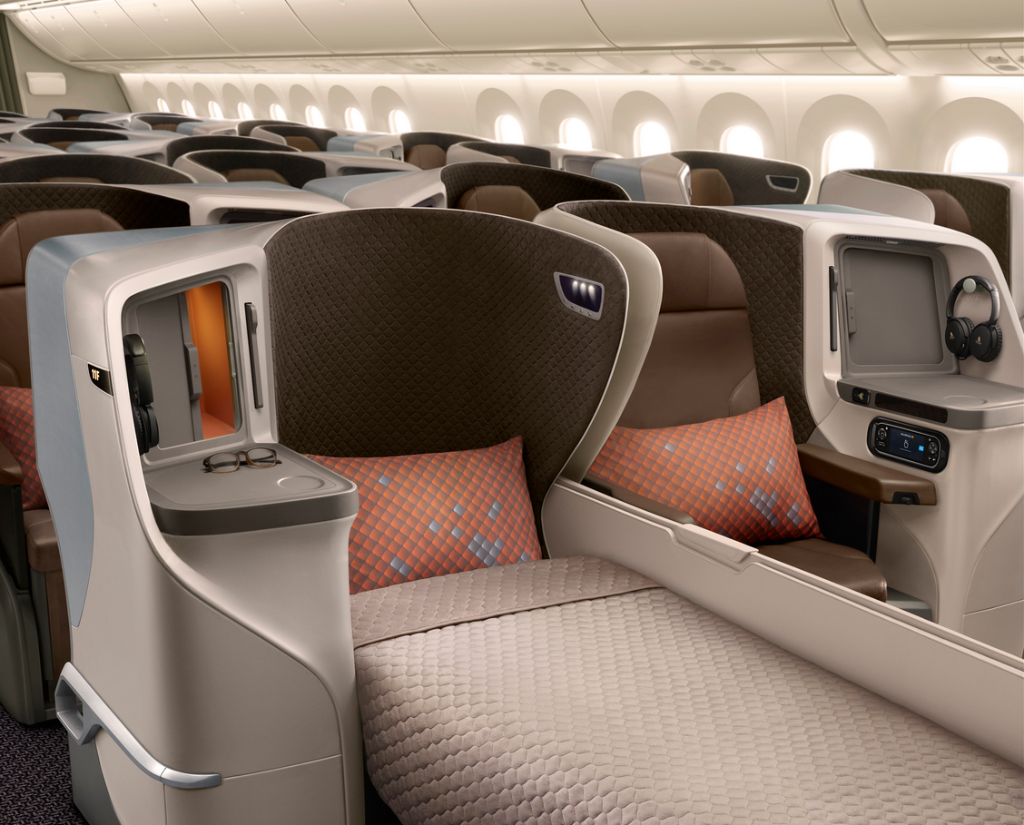 Photo of Recension: Singapore Airlines Boeing 787-10 Dreamliner i Business Class