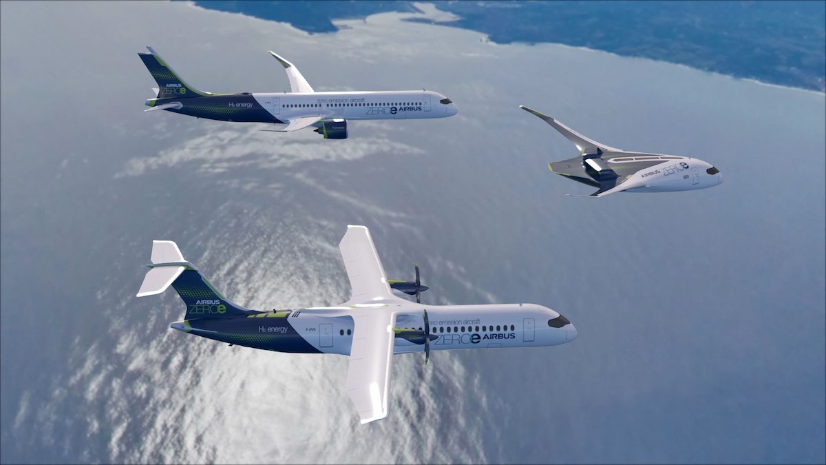 Photo of Airbus presenterar zero-emission flyg