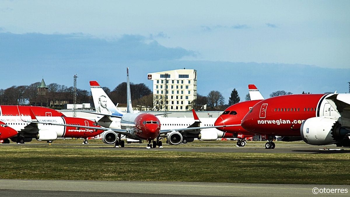 Photo of Norwegian-kris: 15 av 21 flygplan tas ur trafik och 1 600 permitteras