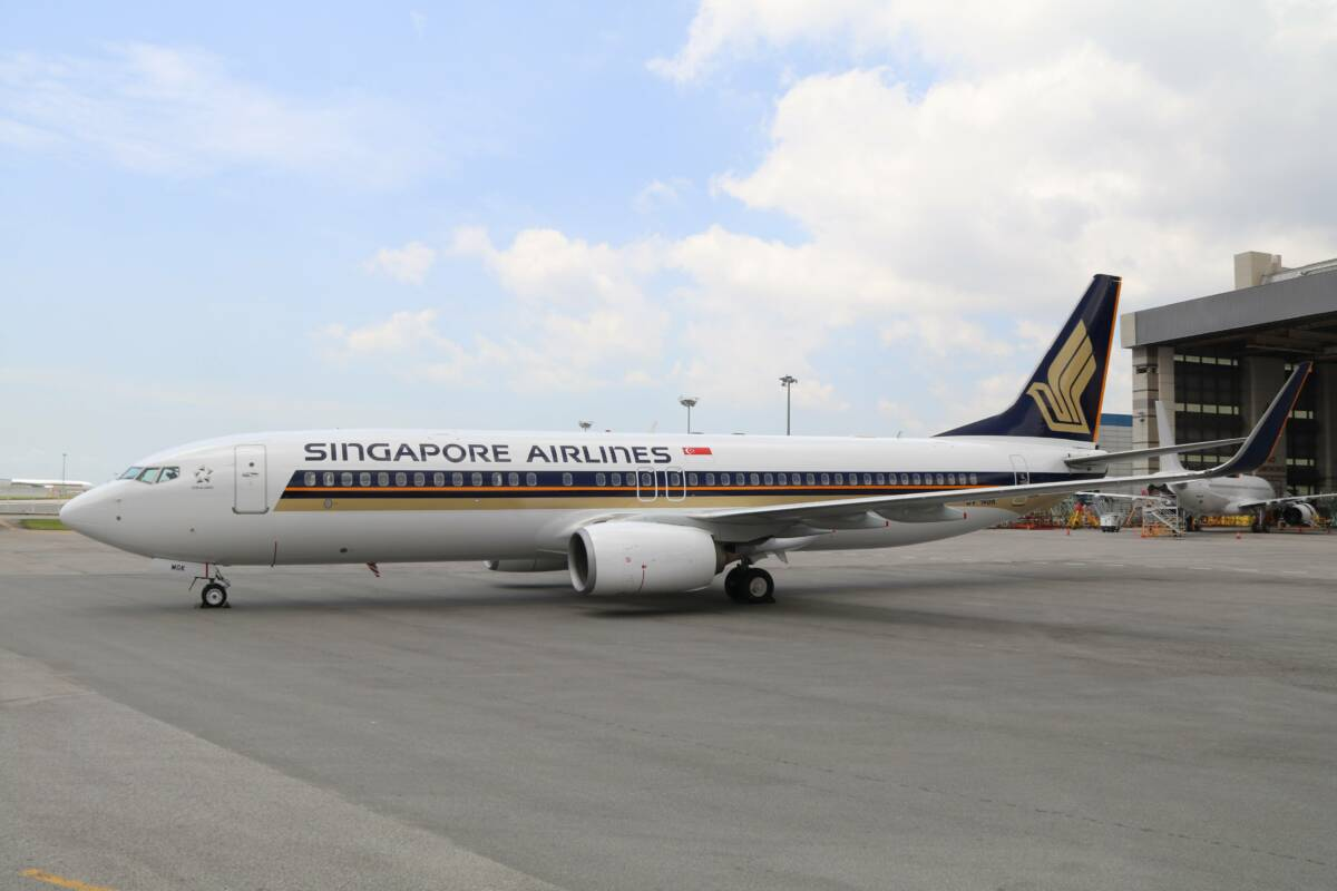 Photo of Singapore Airlines startar trafik med Boeing 737-800